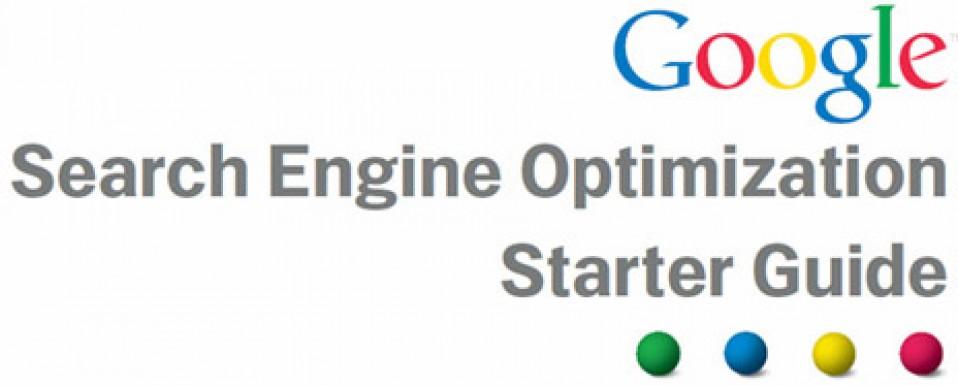 Google Search Engine Optimisation Starter Guide